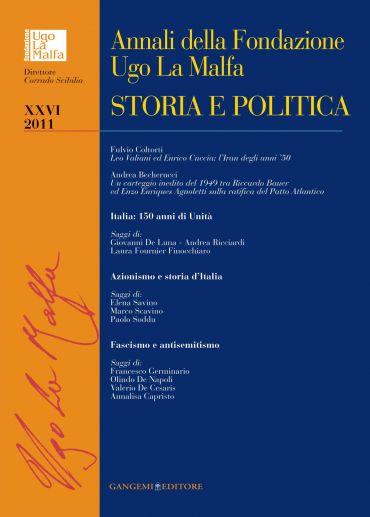 Annali della Fondazione Ugo La Malfa XXVI-2011