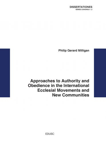 Approaches to Authority and Obedience in the International Eccle
