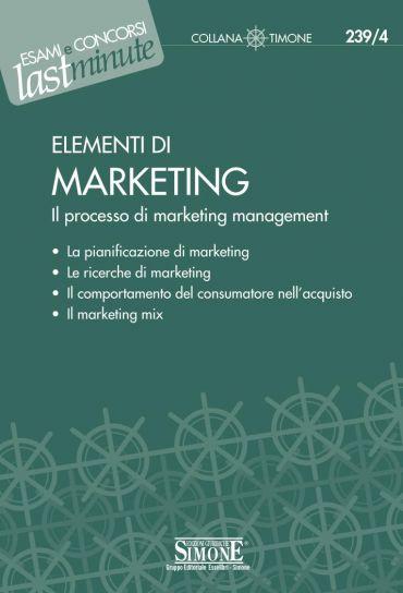 Elementi di Marketing