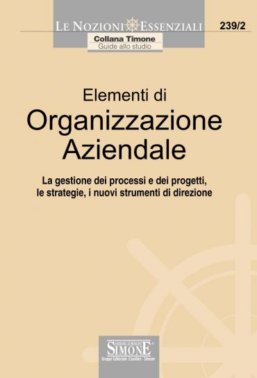 Elementi di Organizzazione Aziendale