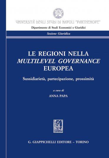 Le Regioni nella multilevel governance europea ePub