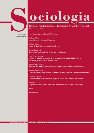 Sociologia n. 1/2011
