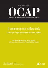 OCAP 2.2019. Il cambiamento nel welfare locale