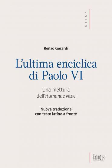 L' Ultima enciclica di Paolo VI ePub