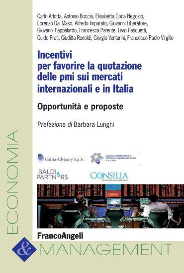 Incentivi per favorire la quotazione delle pmi sui mercati inter