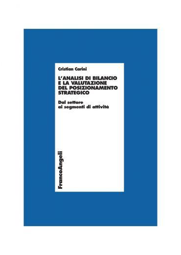 L'analisi di bilancio e la valutazione del posizionamento strate