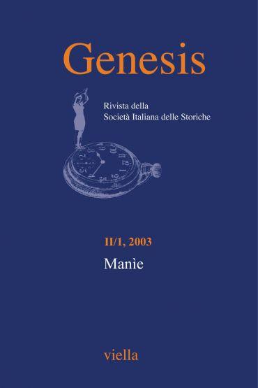 Genesis. Rivista della Società italiana delle storiche (2003) Vo