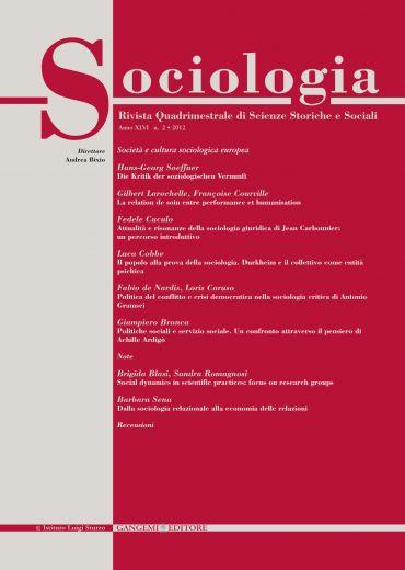 Sociologia n. 2/2012