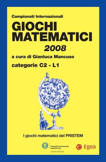 Giochi matematici 2008
