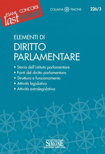 Elementi di Diritto Parlamentare