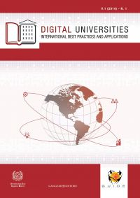Digital Universities V.1 (2014) - n. 1