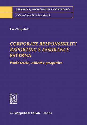 Corporate Responsibility Reporting e Assurance Esterna.