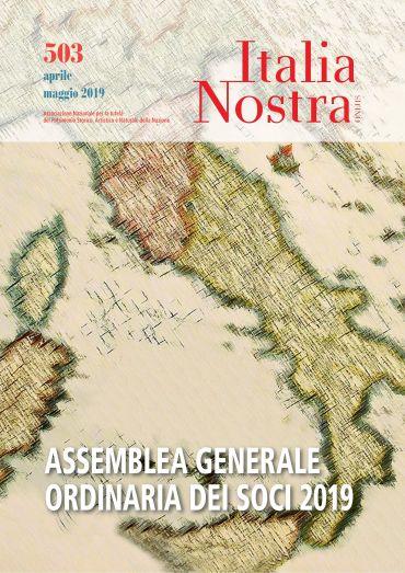 Italia Nostra 503 apr-mag 2019