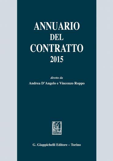 Annuario del contratto 2015