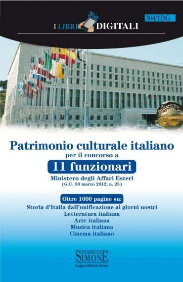 Patrimonio culturale italiano per il corso a 11 funzionari Minis