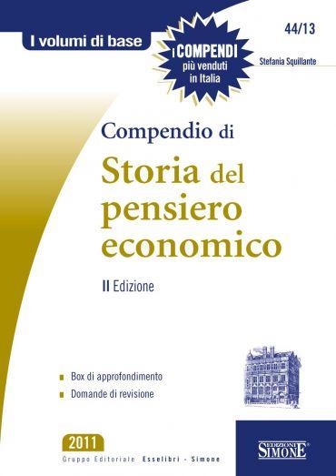 Compendio di Storia del Pensiero Economico