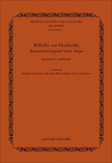 W. von Humboldt, duecentocinquant'anni dopo ePub