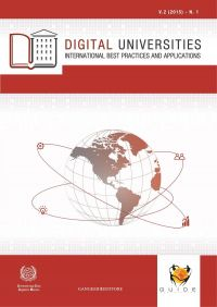 Digital Universities V.2 (2015) - n. 1