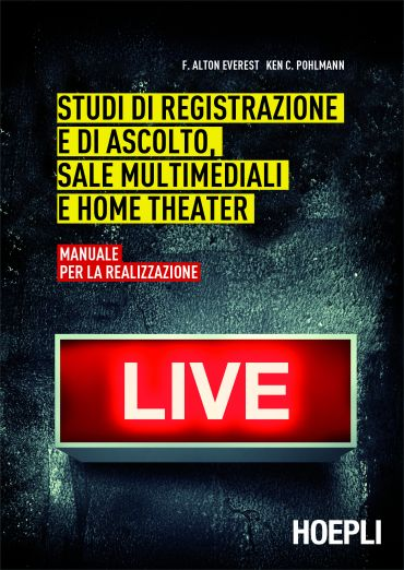 Studi di registrazione e di ascolto, sale multimediali e home th