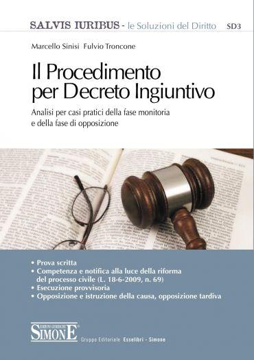 Il Procedimento per Decreto Ingiuntivo