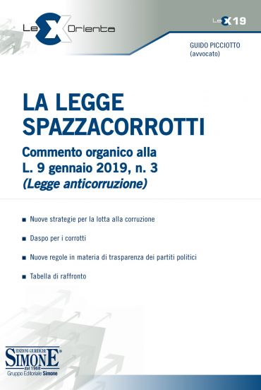 La Legge Spazzacorrotti