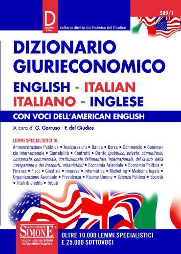 Dizionario Giurieconomico - English-Italian / Italiano-Inglese