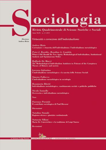 Sociologia n. 2/2015 ePub