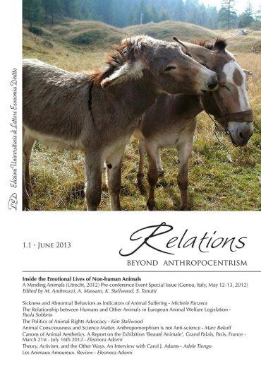 Relations. Beyond Anthropocentrism, 1.1 - June 2013