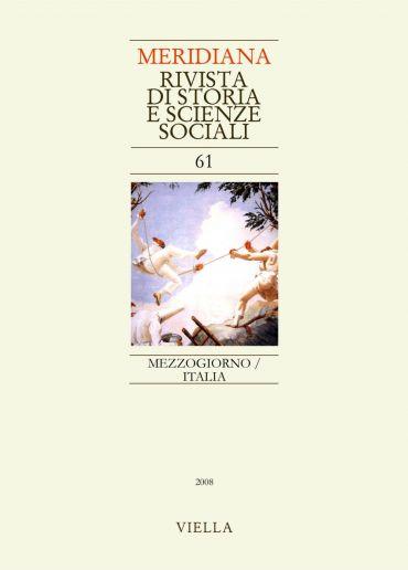 Meridiana 61: Mezzogiorno/Italia
