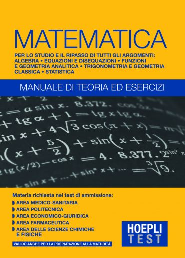 Matematica - Manuale di teoria ed esercizi ePub