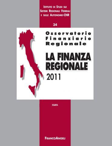 Osservatorio finanziario regionale/34. La finanza regionale 2011