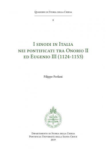 I sinodi in Italia nei ponticati tra Onorio II ed Eugenio III (1