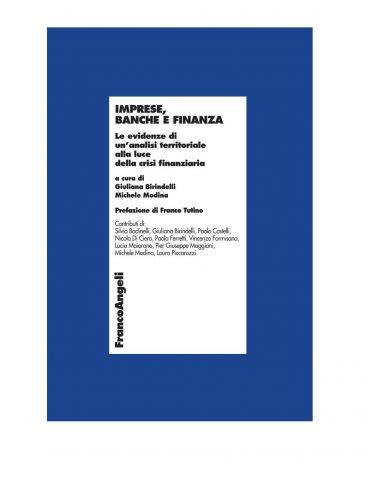Imprese, banche e finanza. Le evidenze di un'analisi territorial