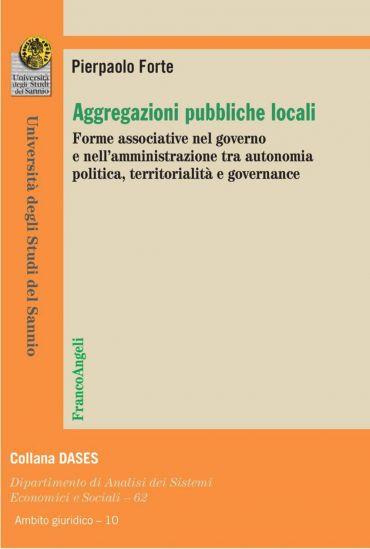 Aggregazioni pubbliche locali. Forme associative nel governo e n