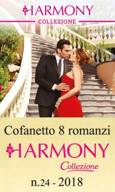 Cofanetto 8 Harmony Collezione n.24/2018 ePub