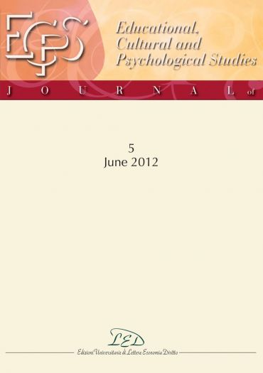 Journal of Educational, Cultural and Psychological Studies (ECPS