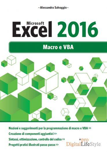 Microsoft Excel 2016 Macro e VBA ePub