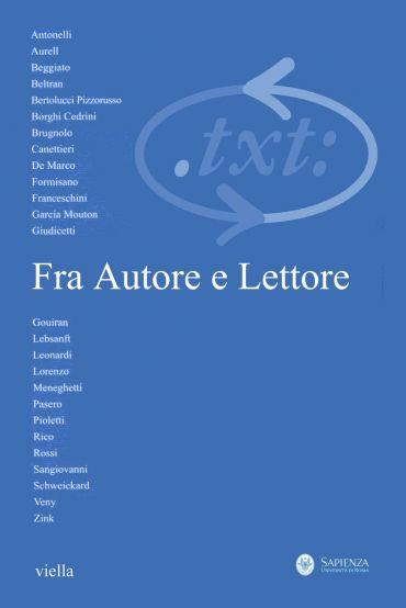 Critica del testo (2012) Vol. 15/3