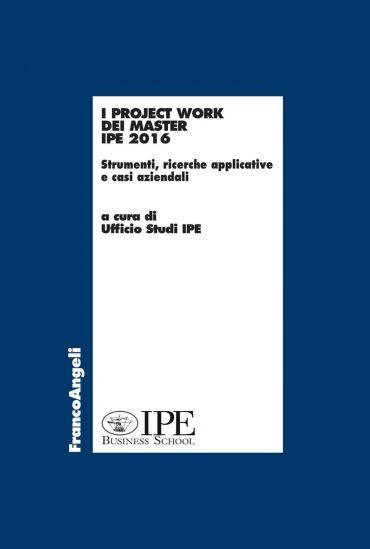 I project work dei master IPE 2016