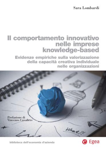 Il comportamento innovativo nelle imprese knowledge-based