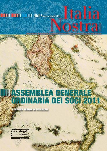 Italia Nostra 461/2011. Assemblea generale ordinaria dei soci 20