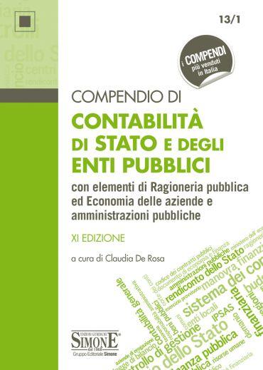 Compendio di Contabilità di Stato e degli Enti Pubblici ePub