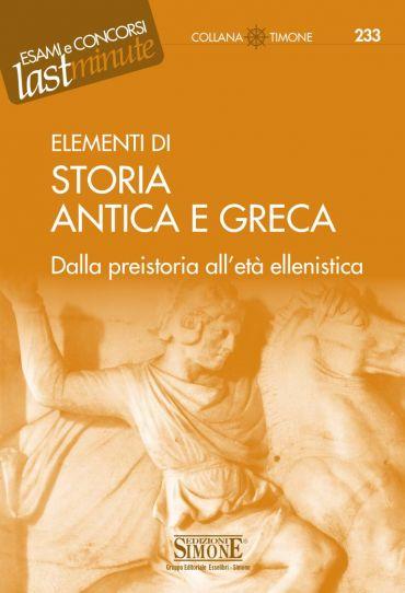 Elementi di Storia Antica e Greca