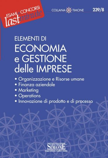 Elementi di Economia e Gestione delle Imprese