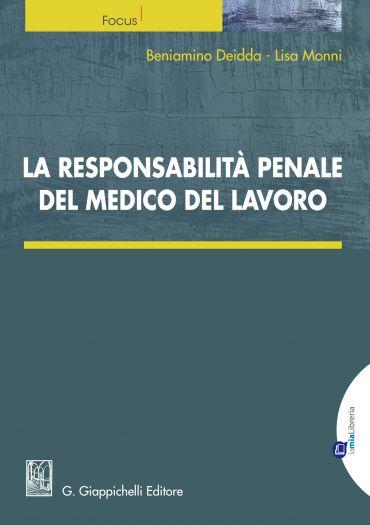La responsabilità penale del medico del lavoro ePub