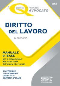 I quaderni del praticante Avvocato - Diritto del Lavoro