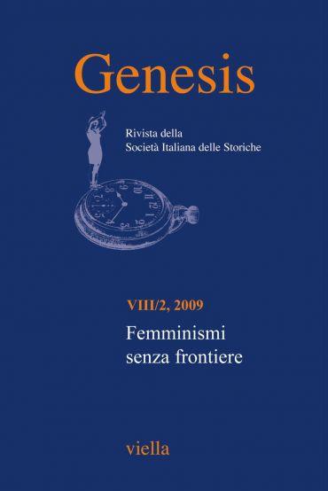 Genesis. Rivista della Società italiana delle storiche (2009) Vo