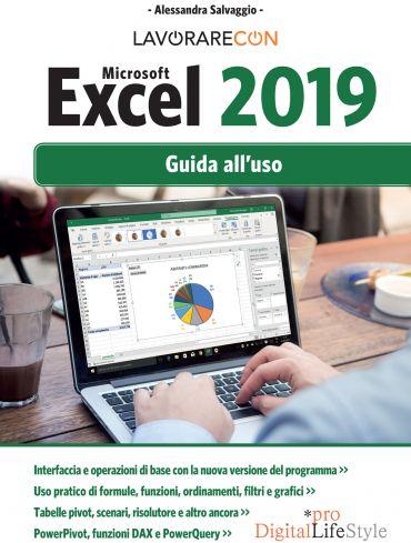 Lavorare con Microsoft Excel 2019. Guida all'uso ePub