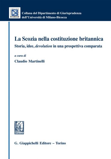 La Scozia nella costituzione britannica ePub