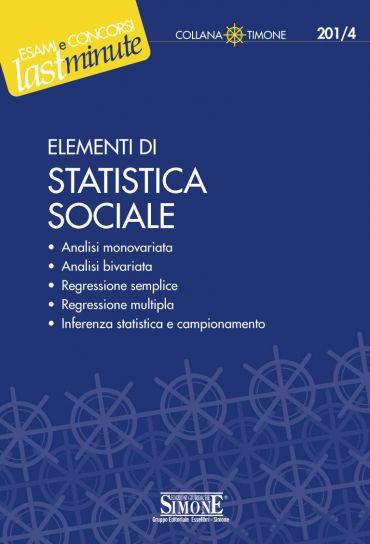 Elementi di Statistica sociale